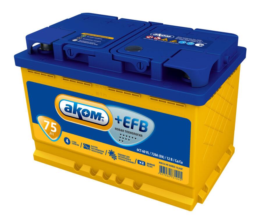 АКОМ EFB 75 PR